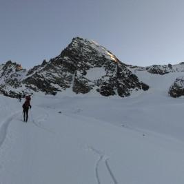 Jutranji sprehod preko ledenika