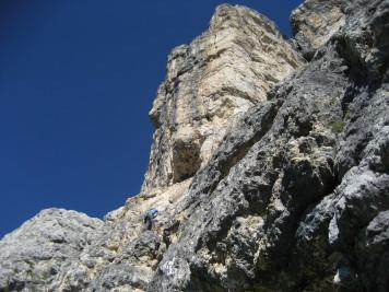 Proti vrhu smeri Alvera