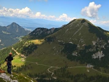 Pogled proti Ovčjemu vrhu