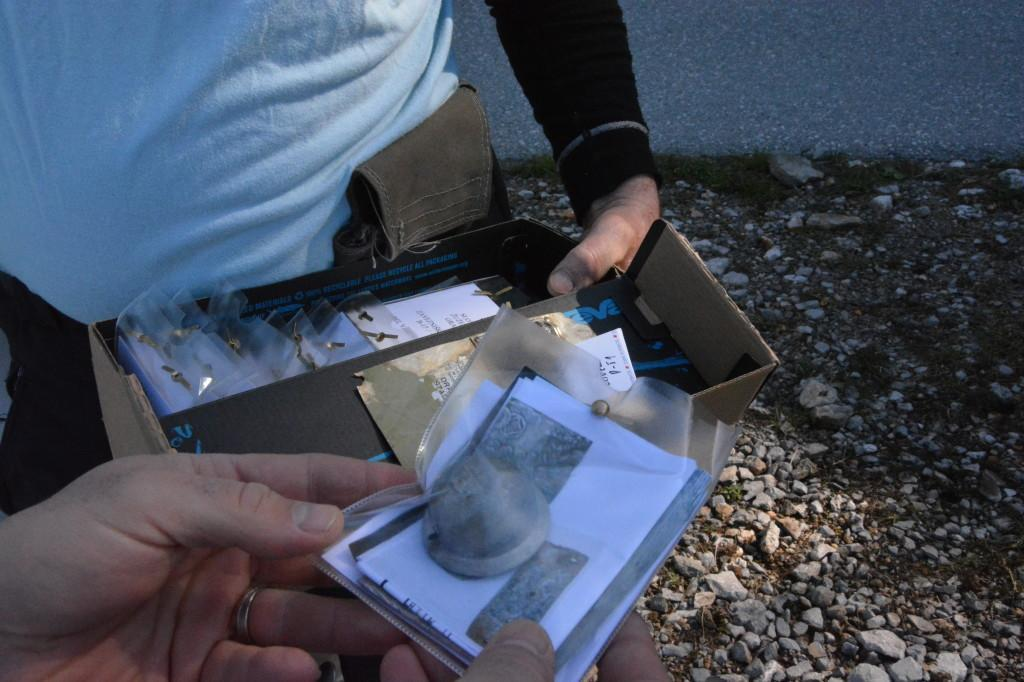 Skrbno shranjeni ion dokumentirani ostanki letal