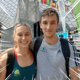 Janja in Gregor ugnala svetovno konkurenco