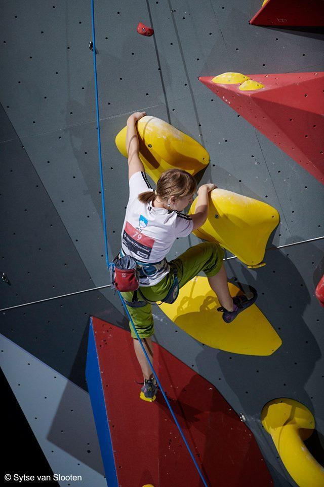 Tanja na svetovnem prvenstvu v Innsbrucku Foto: Sytse van Slooten (FB-profil Tanje Glušič)