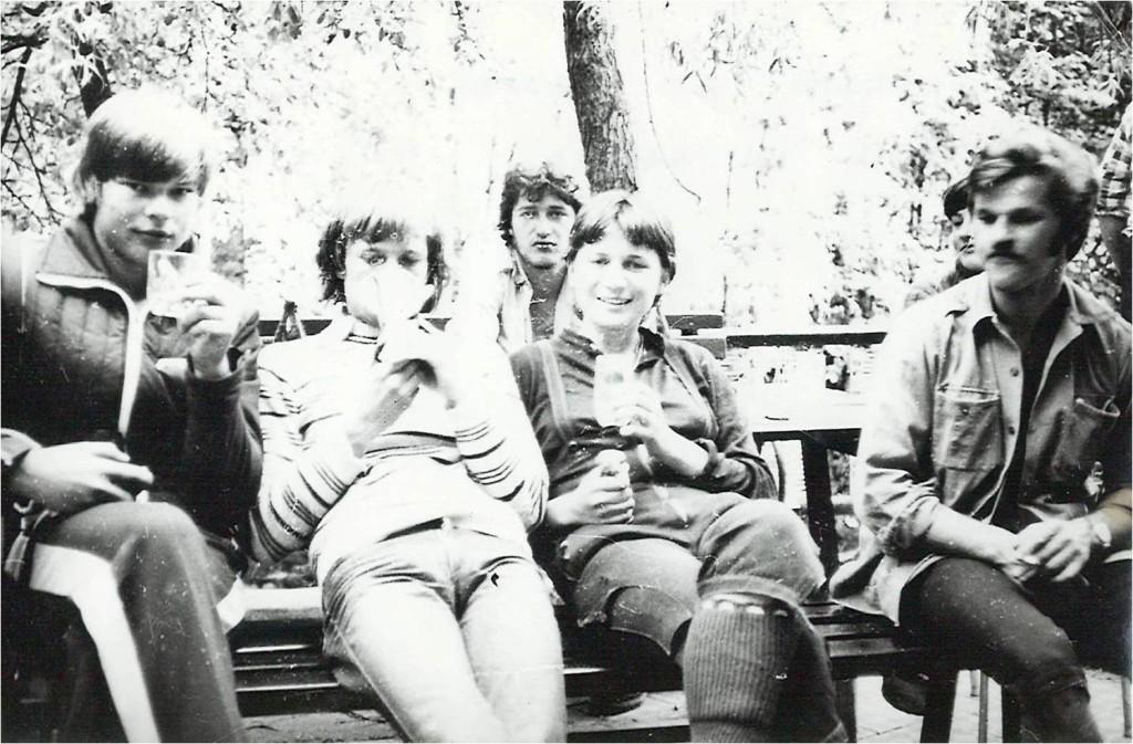 Pri Saveliju smučanje na Raduhi 1978