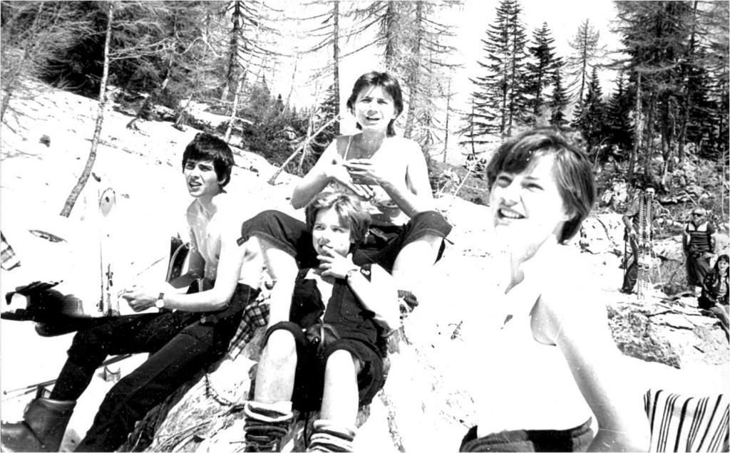 Raduha veleslalom 1980