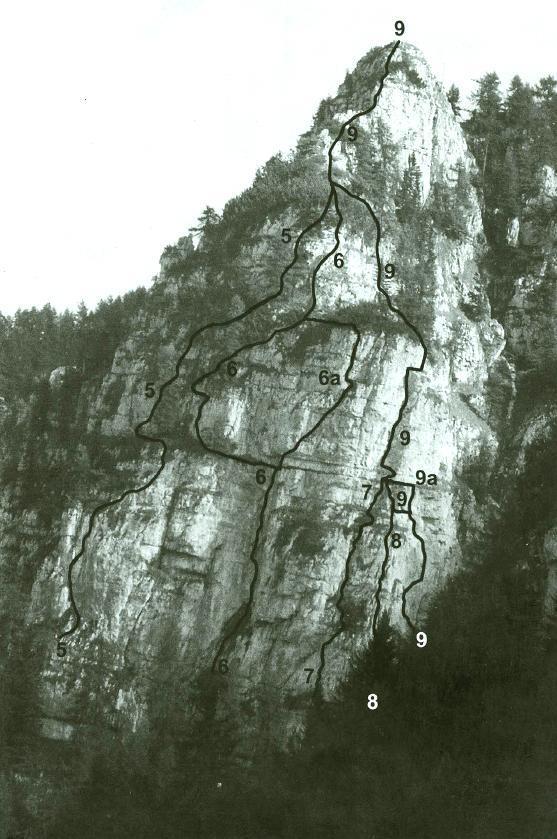 Uršlja Šmohorca Urškina smer