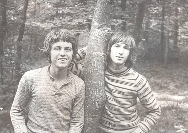 Miha Špilč Tabor v Vratih 1974