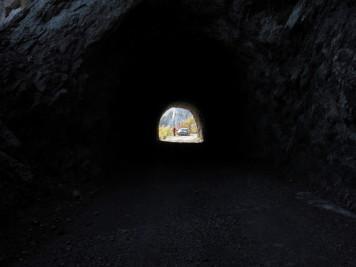 Špilč na koncu tunela