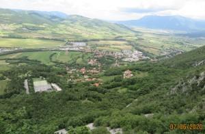 Pogled na Vipavo