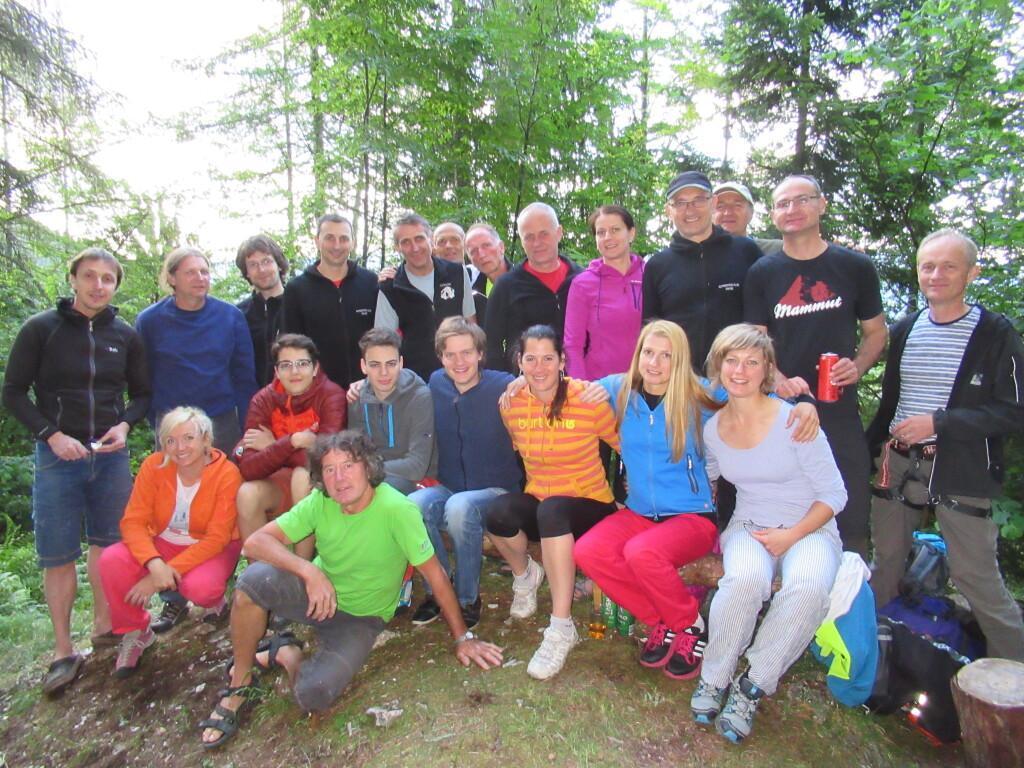 IMG_0827 Alpinisti Kot šola piknik alpinistična tečajniki pripravniki PetraA